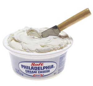 Le Philadelphia cream cheese ©Renee Comet