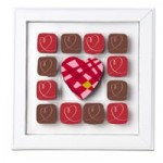 Chocolat Rouge Passion pour la Saint Valentin