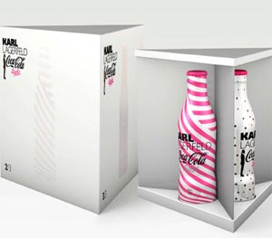 Coffret Coca-Cola Light Karl Lagerfeld 2011