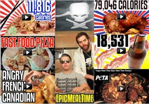 Le site Epic Meal Time