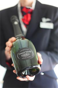 Laurent Perrier Grand Siècle servi sur British Airways