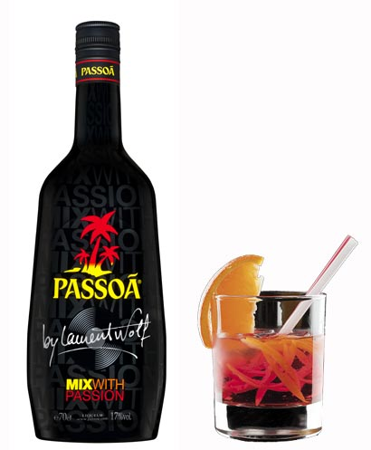 Passoà et cocktail Mix With Passion