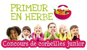 Primeur en herbe, corbeilles de fruits juniors