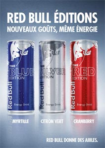 Les Red Bull Editions