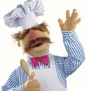 Le swedish chef des Muppets