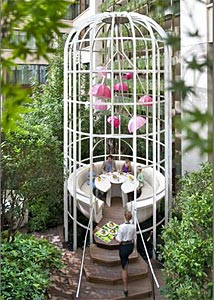 La Table du Jardin du Mandarin Oriental Paris