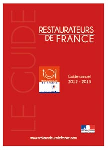 Le Guide Restaurateurs de France 2012
