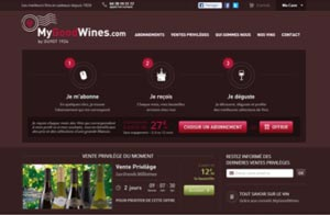 Le site Mygoodwines