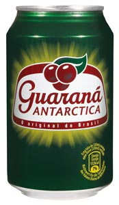 Le soda Guaraná Antartica