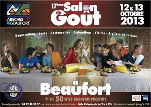 17e Salon du Goût à Beaufort