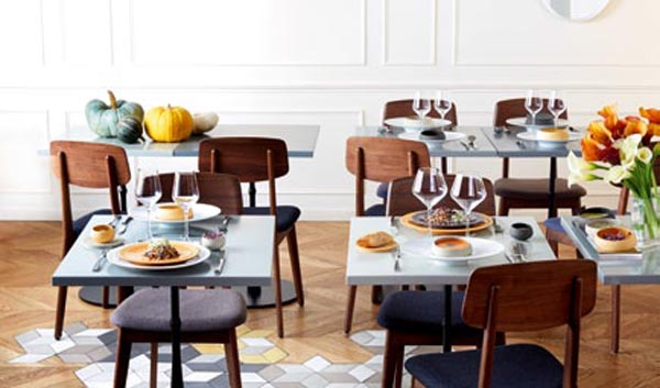 Tables avec Terra de Guy Degrenne