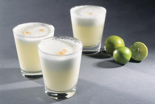 Le fameux cocktail Pisco Sour
