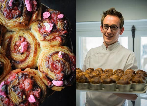 Brioche aux pralines roses ©Annabelle Schachmes/Christian Boudard ©Laurence Mouton