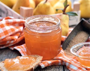Confiture de poire Williams