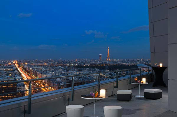 Skyline Paris Lounge & Bar  Melia Defense