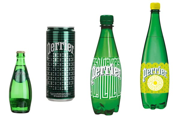 Perrier inspired by street art  by L'Atlas