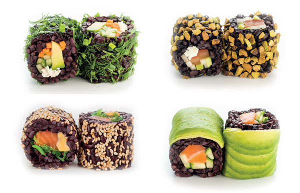 La Black Collection de Planet Sushi