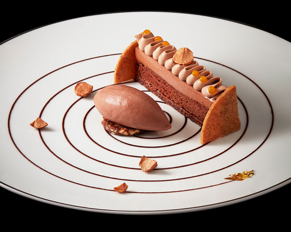 Emotion chocolat par Julien Alvarez, The Peninsula Paris