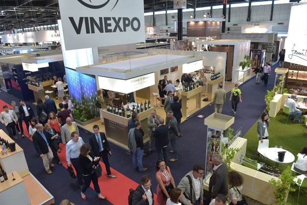 Vinexpo Bordeaux en 2015