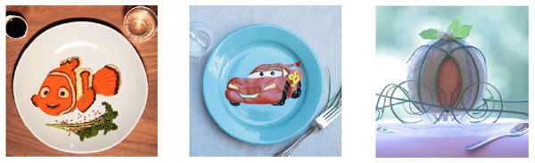 Food-Art Disney