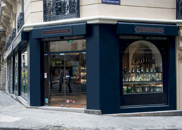 Le Comptoir Major à Paris
