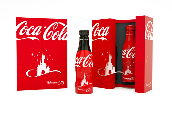 Coffret premium Coca Cola Disneyland Paris