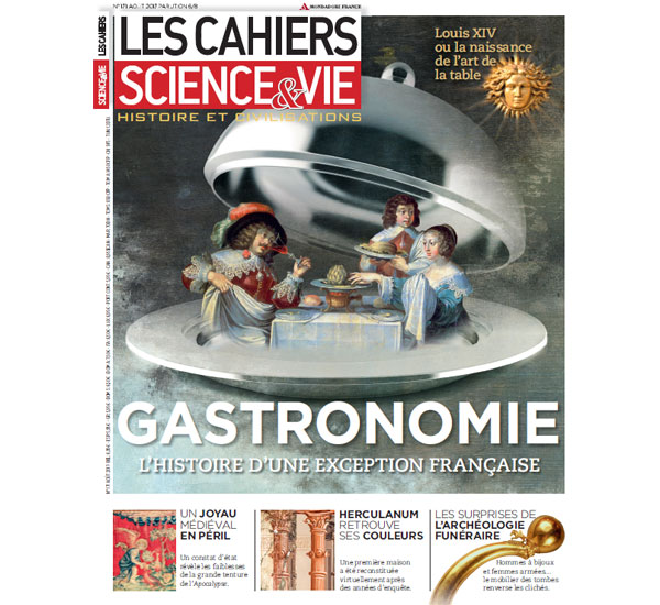 Cahiers Science & Vie gastronomie