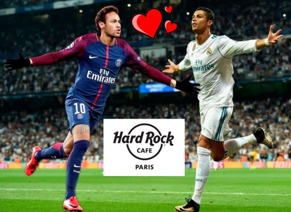 Le Hard Rock Café Paris allie St-Valentin et foot