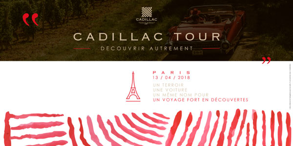 Le Cadillac Tour 2018 à Paris