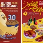 Le Guide des Gourmands et le salon Les Coqs d'Or 2018