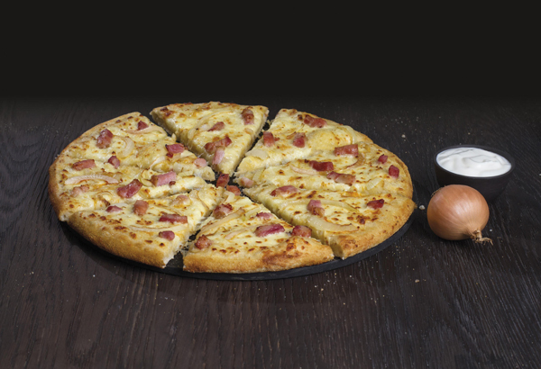 La pizza Creamy Onion's de Domino's