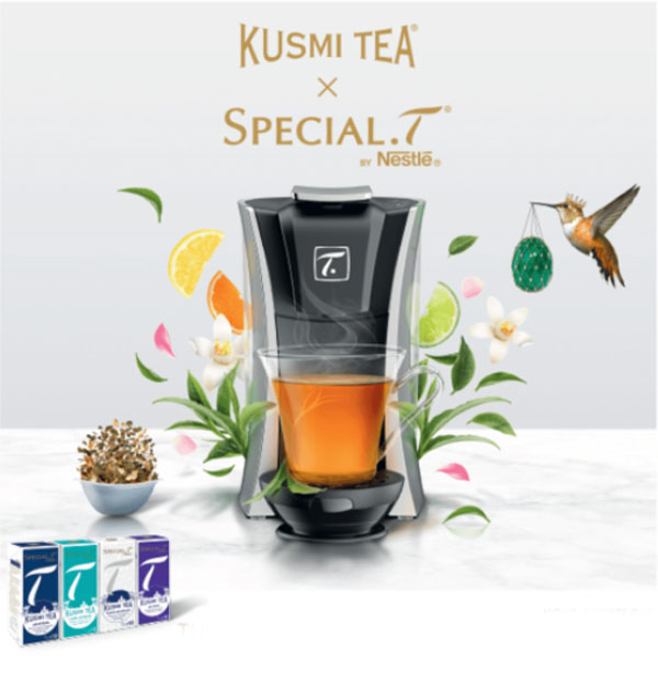 Collaboration Kusmi Tea et Special T