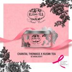Kusmi Tea et Chantal Thomass unis contre le cancer du sein