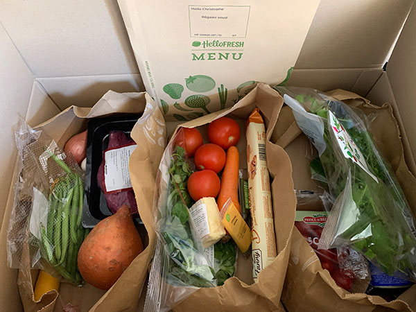 Menus HelloFresh